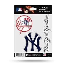Amazon Com New York Yankees Stickers