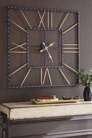 thames black gold wall clock kimbrell