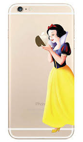 Snow White Holding Apple Decal Sticker For Iphone 6 Plus 5 5 Ebay