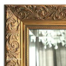 french ornate embossed antique gold