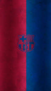 red and blue fc barcelona logo iphone 6