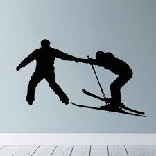 Exterior Accessories Ski Lift Wall Decal Skiers Decals Snowboard Winter Sport Ski Lift Chair Wall Decal Skiing Sports Decal Bedroom Kids Mountain Decor C Itrainkids Com