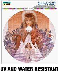 Amazon Com Graphics And More Labyrinth Movie Art Goblin King Jareth David Bowie Automotive Car Window Locker Circle Bumper Sticker Automotive