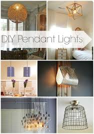 diy pendant lights design dining