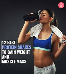 12 best weight gain protein shakes to
