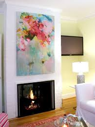 entryway wall mirror or artwork with