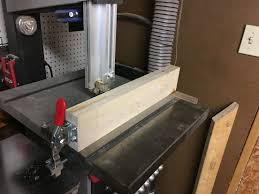 My New Bandsaw Fence Bandsaw Diy Woodworking Wood Tools