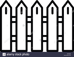 Fence Slat Stock Vector Images Alamy