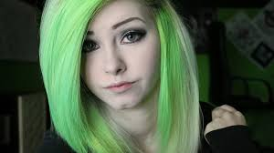 how to do emo makeup for green eyes