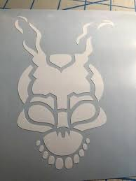 Donnie Darko Frank The Bunny Frank Mademedo It Horror Vinyl Decal You Pick Color Ebay Donnie Darko Donnie Darko Frank Vinyl Decals