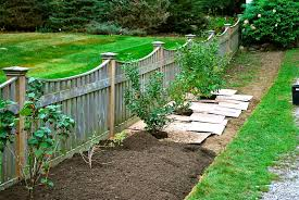 Garden Ideas Along Fence Line Better Home And Garden Induced Info
