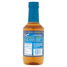 torani sugar free clic caramel syrup