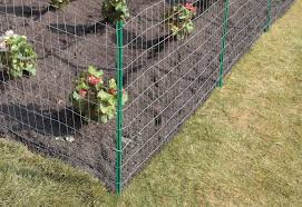 Erecting A Wire Fence At The Home Depot Wire Fence Chicken Wire Fence Steel Fence