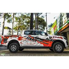 Ford Ranger Vinyl Graphic Decals Kit 004