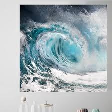 Ocean Wave Wall Decal Wayfair