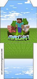 Minecraft Invitaciones Para Imprimir Gratis Ideas Y Material