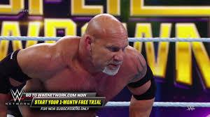 Goldberg Spears Wyatt 4 times: WWE Super ShowDown 2020 (WWE ...