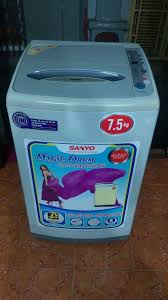 MUABANVN - Mua bán rao vặt toàn quốc - Bán máy giặt sanyo 7,5kg