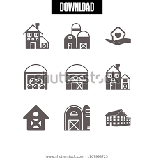 Fence Icon 9 Fence Vector Set Stock Vector Royalty Free 1167998725