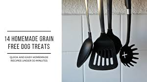 homemade grain free dog treats recipes
