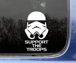 Support The Troops Car Decal Dudeiwantthat Com