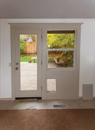 patio door and window combination