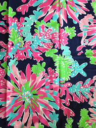 Lilly pulitzer fabric ...