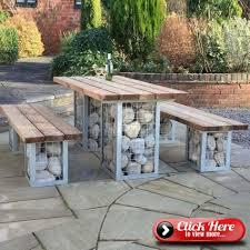 garden bench dining table terrace