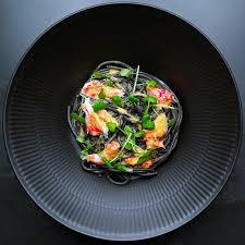 Black pasta with king crab — XOTC ...
