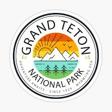 Grand Teton Stickers Redbubble