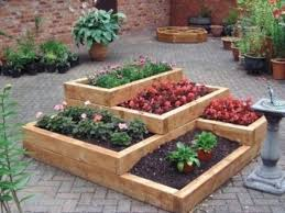 pallet raised garden beds potager