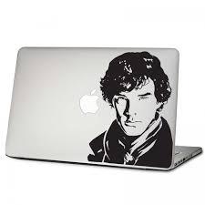 Sherlock Holmes Laptop Macbook Vinyl Decal Sticker