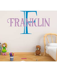 Savings On Boy S Custom Name And Initial Wall Decal Choose Your Own Name Initial And Letter Styles Multiple Sizes Boy S Nursery Personalized Custom Name Wall Decals Boy S Name Wall Decal Boy S Name