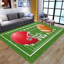 Modern Child Playground Mat Rugby Field Pattern 3d Printed Carpets For Living Room Bedroom Decor Carpet Kids Room Play Area Rugs Carpeting Costs Berber Carpet Tiles From Zijinflo 16 85 Dhgate Com