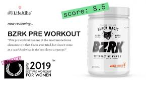 bzrk pre workout review extremely