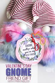 cute gnome valentine s day gift idea