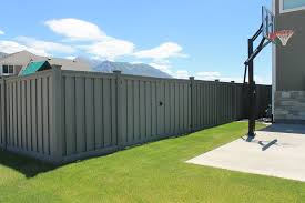 Privacy Fence Landscaping With A Double Gate Privacy Fence Landscaping Trex Fencing Fence Landscaping