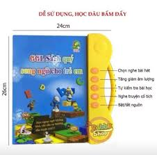 Sách Nói Điện Tử Song Ngữ Anh-Việt Cho Trẻ Em - Posts
