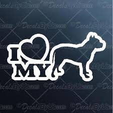 I Love My Pit Bull Decal I Love My Pit Bull Car Sticker Best Prices