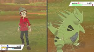 Pokemon Sword and Shield Tyranitar Evolution and Gameplay - YouTube