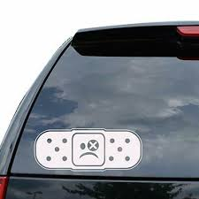 Band Aid Ouch Dent Japanese Jdm Decal Sticker Car Truck Motorcycle Window Ipad L Ebay
