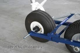 40ez airplane tug moves light aircraft