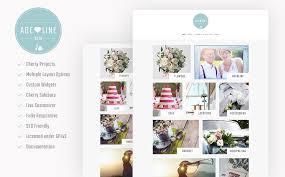 Adeline - Young Couple Photo Album Photography WordPress Theme ...