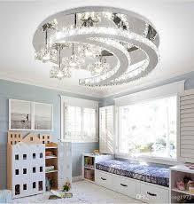 bedroom crystal led ceiling light