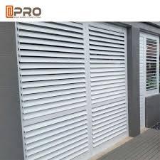 Sound Insulation Customized Fixed Aluminium Louver Window Aluminium Plantation Shutters For Sale Aluminium Louver Window Manufacturer From China 109319755