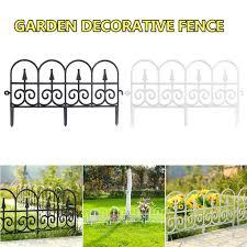 5pcs Lot Garden Border Decorative Garden Fence Edging Outdoor Plant Bordering Lawn Edging Fence For Yard Garden Decoration Fencing Trellis Gates Aliexpress