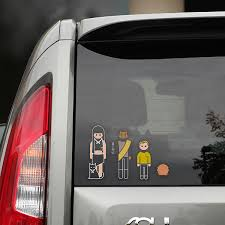 Family Car Decals Star Trek