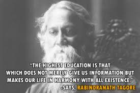 quote of the day on th by rabindranath tagore