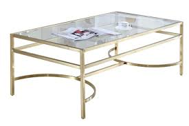 stirling glass coffee table side table