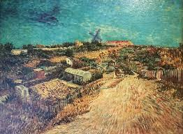 van gogh painting vegetable gardens in